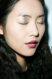 Liu Wen_Eyes Closed Profile_Derek Lam