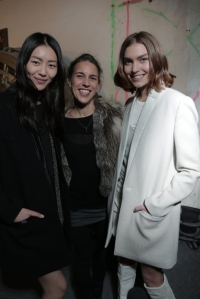Liu Wen Isabel Marant and Arizona Muse