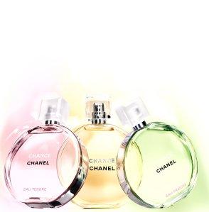 CHANCE, CHANCE Eau Fraiche & CHANCE Eau Tendre 2013 - 3x €108.00 for 150ml