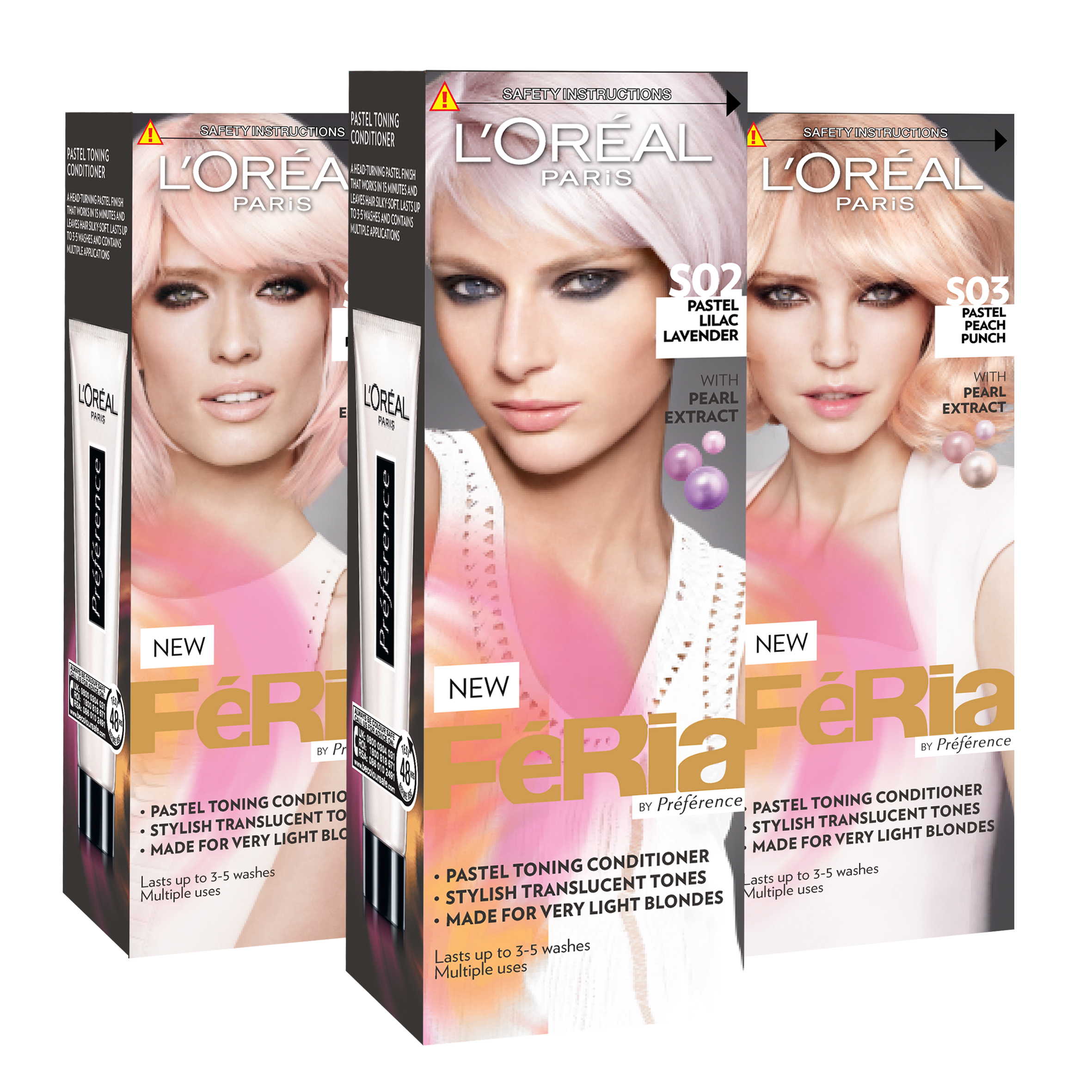 Loreal Fria Pastel Toning Conditioner Beauty Baked