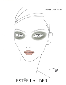 Derek Lam Fall_Winter Fashion Show 2014_Face Chart