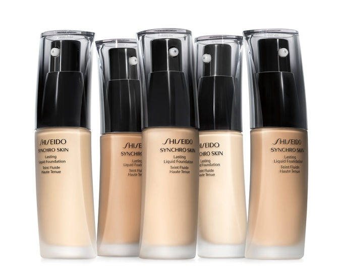 Shiseido Synchro Skin foundation PR visual
