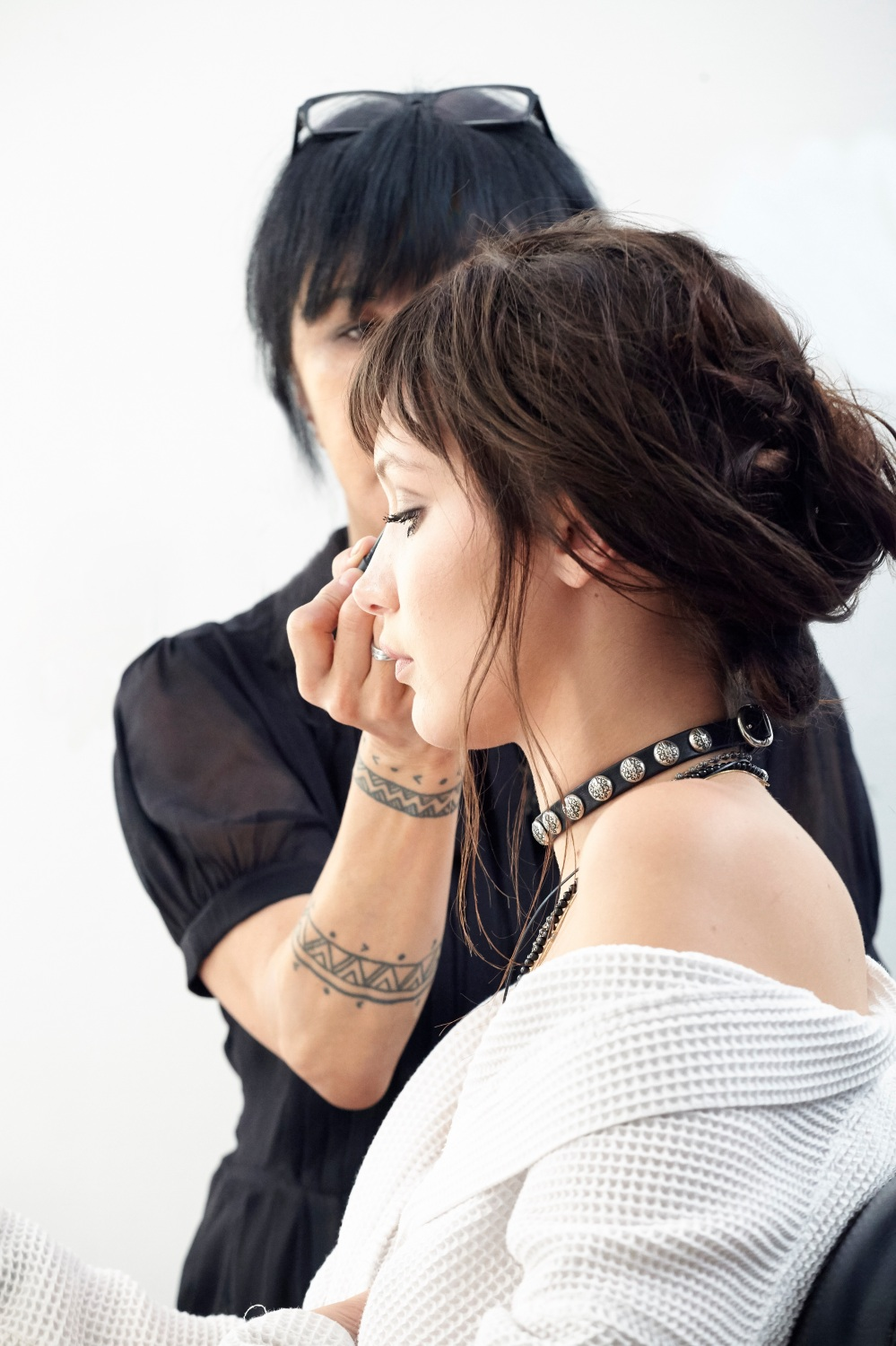 NARS Highlighting Bronzing Collection - Campaign BTS - Image 2 - jpeg copy