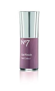 No7 Gel Finish nail colour pink mocha