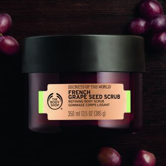 FRENCH GRAPE BODY SCRUB 350ML_GOLD_PC