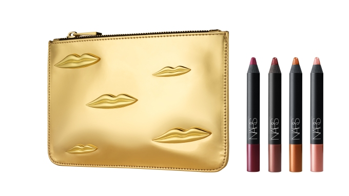 Man Ray for NARS Holiday Collection - The Kiss Velvet Matte Lip Pencil Set - jpeg