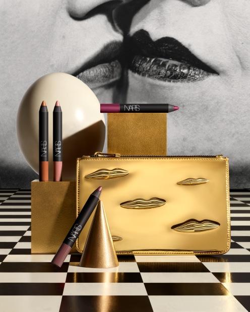 Man Ray for NARS Holiday Stylized Image - The Kiss Velvet Matte Lip Pencil Set - jpeg