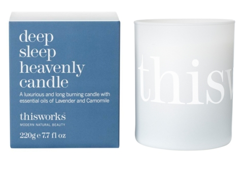 this works deep sleep heavenly candle EUR33